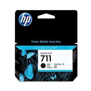 HP 711 Black Siyah 38ML Plotter Kartuþu CZ129A