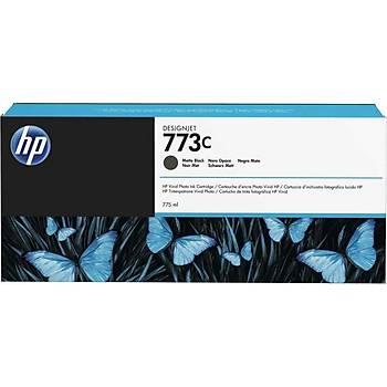 HP 773C Matte Black Mat Siyah 775ML Plotter Kartuþu C1Q37A