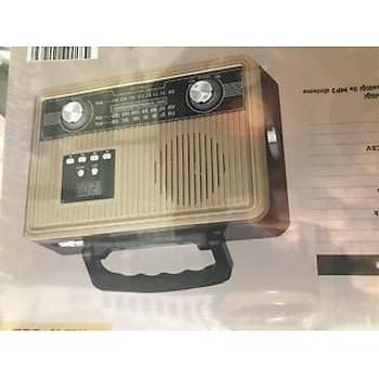 Mikado MDR-685 Ahþap Usb-TF Destekli Bluetooth FM-AM-SW Klasik Radyo