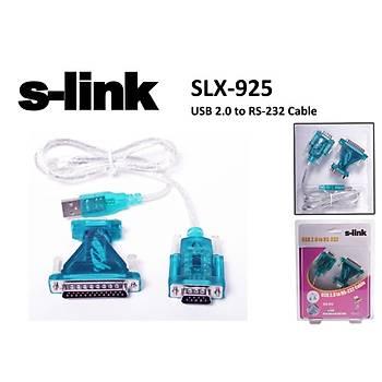 S-link SLX-925 Usb 2.0 To rs232 Çevirici Adaptör