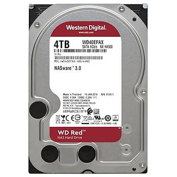 """WD 4TB Red WD40EFAX 5400RPM 6GB-s SATA 3.5"""" NAS Disk Harddisk"""