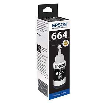 Epson T6641 Black Siyah Þiþe Mürekkep T66414A