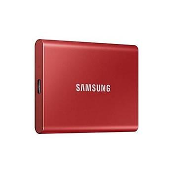 Samsung 500GB T7 1050MB-1000 MB-sn USB 3.2 Gen 2 Taþýnabilir SSD MU-PC500R-WW