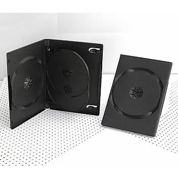 Elba QD-323 3lü Siyah 14mm Dvd Kutusu 10 Adet