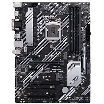 Asus Prime B460-Plus Intel 10.Nesil DDR4 Hdmi Dvi Vga 2xM2 Usb3.1 Anakart