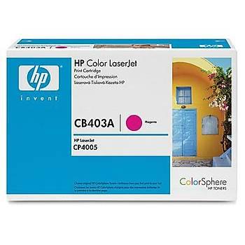 HP 642A Magenta Kýrmýzý 7.500 Sayfa Toner CB403A