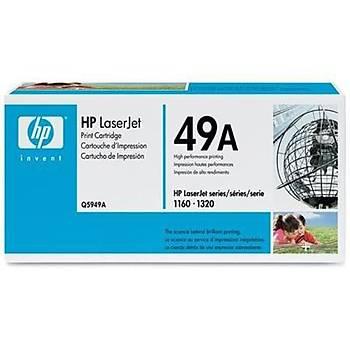 HP 49A Black Siyah 2.500 Sayfa Toner Q5949A