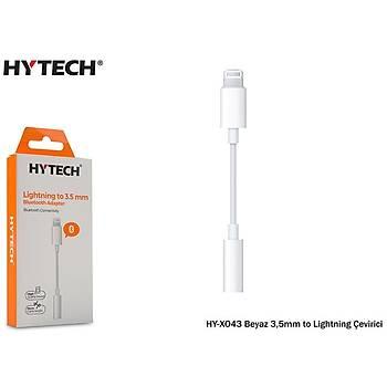 Hytech HY-XO43 Beyaz 3.5mm to Bluetooth Lightning