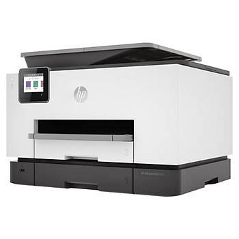 HP 1MR70B Officejet Pro 9023 Yazýcý-Tarayýcý-Fotokopi-Faks-Wifi Çok Fonksiyonlu Renkli Mürekkep Kart