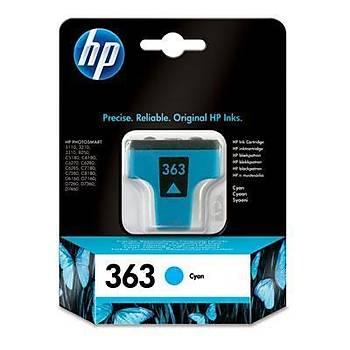 HP 363 Cyan Mavi Kartuþ C8771EE