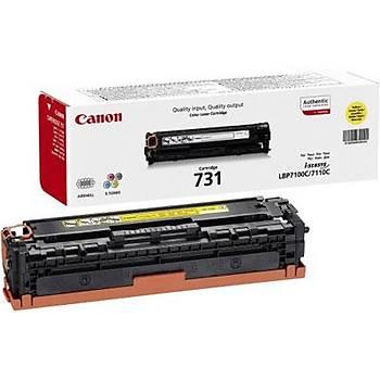 Canon CRG-731Y Yellow Sarý 1.500 Sayfa Toner LBP7110 MF628-8230-8280