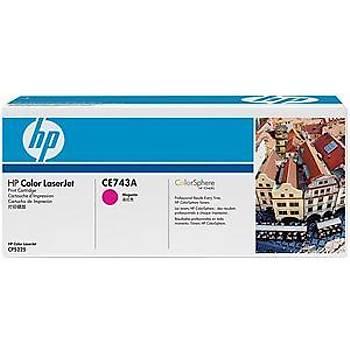 HP 307A Magenta Kýrmýzý 7.300 Sayfa Toner CE743A