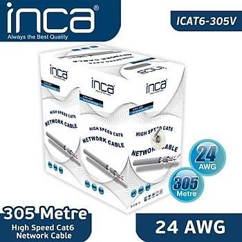 INCA ICAT-305V CAT6 23 AWG 305MT 057mm