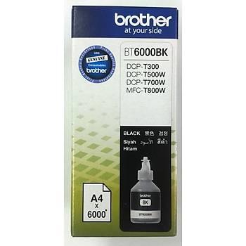 Brother BT6000BK Black Siyah 6.000 Sayfa Þiþe Mürekkep DCP-T300-T500-T700 MFC-T800