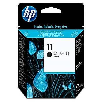 HP 11 Black Siyah Baský Kafasý C4810A