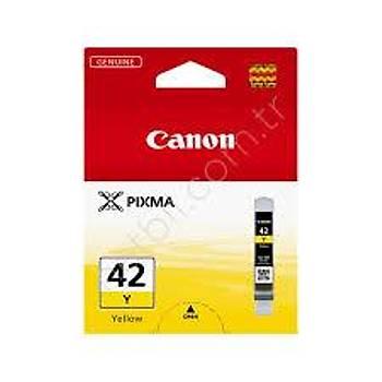 Canon CLI-42Y Yellow Sarý Mürekkep Kartuþ
