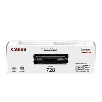Canon CRG-728 2.100 Sayfa Toner MF4410-4430 Fax L150-170