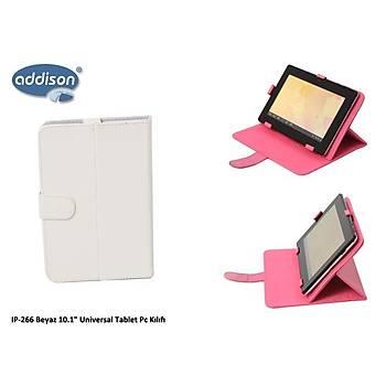 """Addison IP-266 Beyaz 10.1"""" Universal Tablet Pc Kýlýf"""