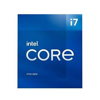 Intel Core i7 11700 2.5GHz 16MB Önbellek 8 Çekirdek 1200 14nm Kutulu Box Ýþlemci (Fanlý)