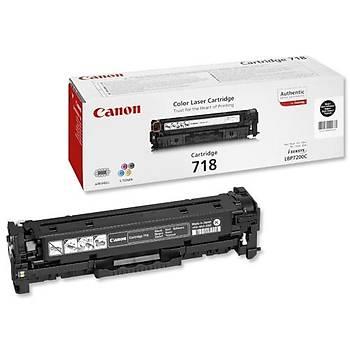 Canon CRG-718BK Black Siyah Toner MF728-729 MFC8350-8580 LBP7210