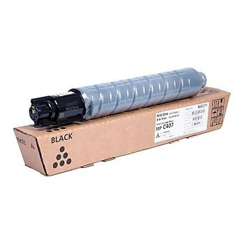 Ricoh MP C407 Black Siyah Orjinal Fotokopi Toneri MP C407spf 17.500 Sayfa