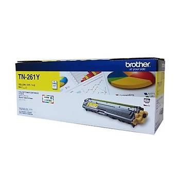 Brother TN-261Y 1.400 Sayfa Yellow Sarý Toner HL-3150-3170 MFC-9140-9330