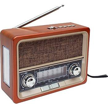 Everton Rt-305bt Fm-usb-Tf Card-Aux 1200mah Nostaljik Radyo