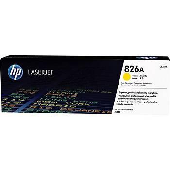 HP 826A Yellow Sarý 31.000 Sayfa Toner CF312A