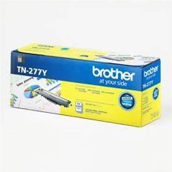 Brother TN-277Y 2.300 Sayfa Yellow Sarý Toner HL-L3270CDW DCP-L3551CDW MFC-L3750CDW