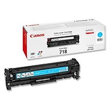 Canon CRG-718C Cyan Mavi Toner MF728-729 MFC8350-8580 LBP7210