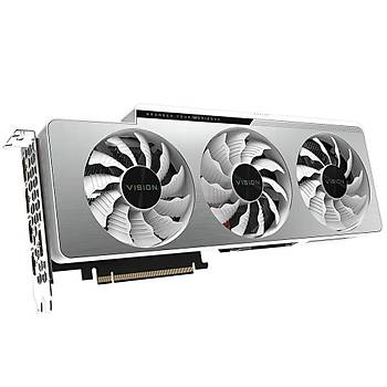 Gigabyte GeForce RTX 3080 VISION OC 10GB GDDR6X 320 Bit GV-N3080VISION OC-10GD Ekran Kartý LHR