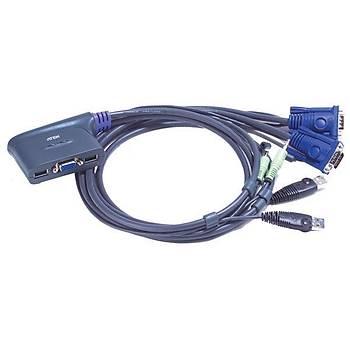 Aten CS62US-A7 2 Port Kvm Switch