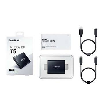 Samsung 2TB T5 Taþýnabilir SSD Disk MU-PA2T0B-WW