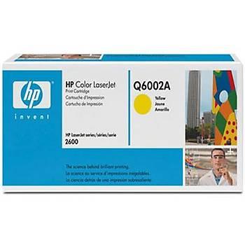 HP 124A Yellow Sarý 2.000 Sayfa Toner Q6002A