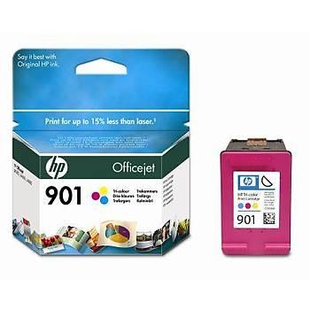 HP 901 Color Renkli Kartuþ CC656AE