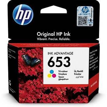 HP 653 Color Renkli Kartuþ 3YM74AE