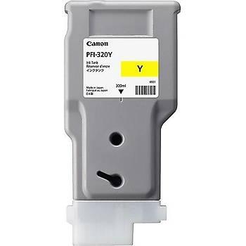 Canon PFI-320Y Yellow Sarý Plotter Kartuþ TM-200-300-305