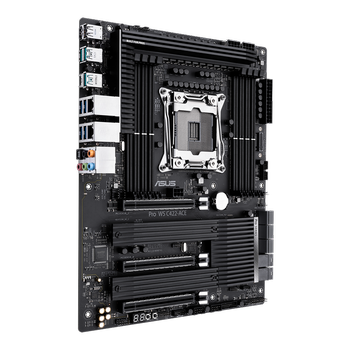 Asus Pro Ws C422-Ace Intel C422 2066 Soket Ddr4 512GB 2933MHz M.2 ATX Anakart