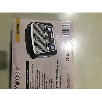 Mikado MDR-683 Siyah Usb-TF Destekli Bluetooth FM-AM-SW Klasik Radyo