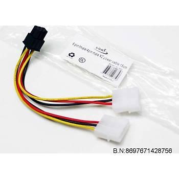 S-link SL-446 4pf-6pm 15cm Ekran Kartý Power Kablo