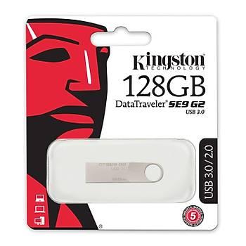 Kingston DTSE9G2 128 Gb Usb 3.0 SE9 G2 Metal Kasa Flash Bellek