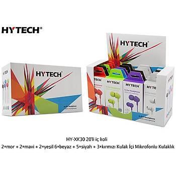 Hytech HY-XK30 Hansfree Witc Mic Beyaz Kulaklýk