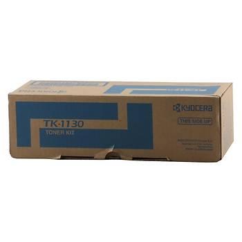 Kyocera TK-1130 Orjinal Fotokopi Toneri FS-1030-1130 Ecosys M2030-2530 3.000 Sayfa 180 Gram