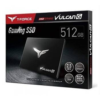 """Apacer 512GB T-Force Vulcan G Gaming 550-500MB-s 2,5"""" SSD Harddisk"""