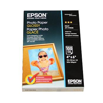 Epson 10x15 200Gram 100'lü Fotoðraf Kaðýdý S042548