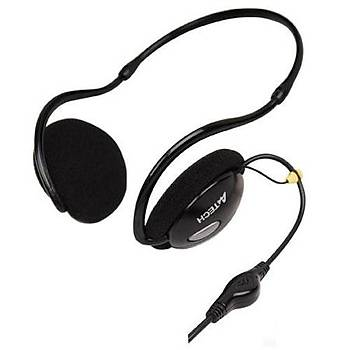 A4 Tech HS-26 Kulaklýklý Mýkrofon Enseye Takýlan Tasarým  2M Kablo Ses Seviyesi Ve On-Off