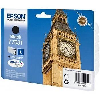 Epson T7031 Black Siyah 1.200 Sayfa Mürekkep Kartuþ T70314010