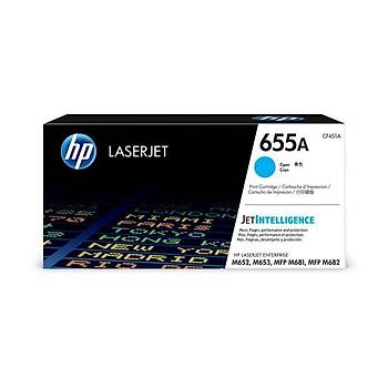 HP 655A Cyan Mavi 10.500 Sayfa Toner CF451A