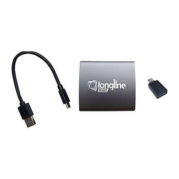 Longline External 128Gb Taþýnabilir Usb 3.1 Ssd Harici Disk 400Mb-300Mb