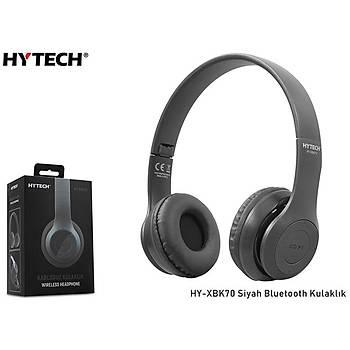 Hytech HY-XBK70 Siyah Bluetooth Kulaklýk